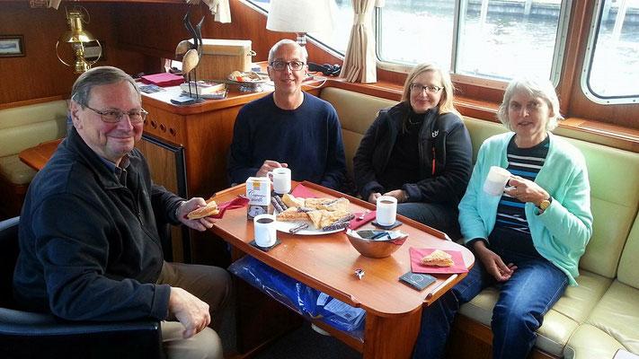 v.l.n.r. Werner, Erich, Petra und Monika.