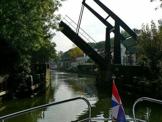 Unterwegs auf der Hollandse Ijssel