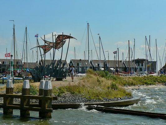 Hafeneinfahrt Marken