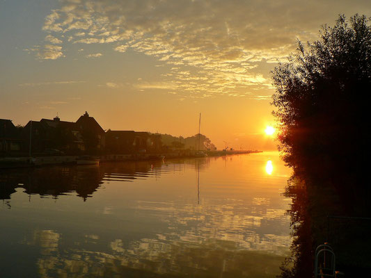 Sonnenaufgang am JH Kaagdorp