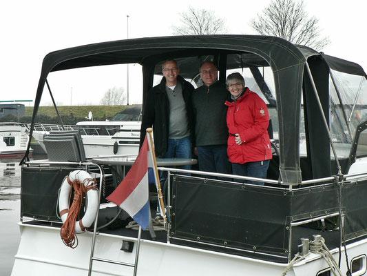 Erich, Roger und Marion