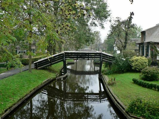 Brücke in Giethoorn
