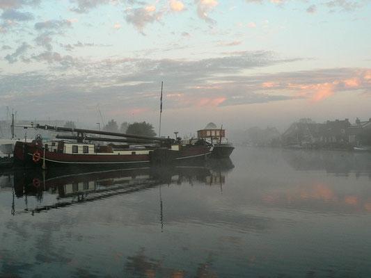 Leichter Nebel am Morgen