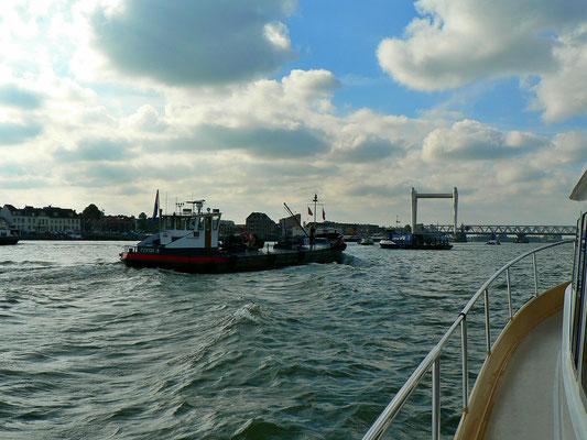 Auf der Oude Maas - Dordrecht