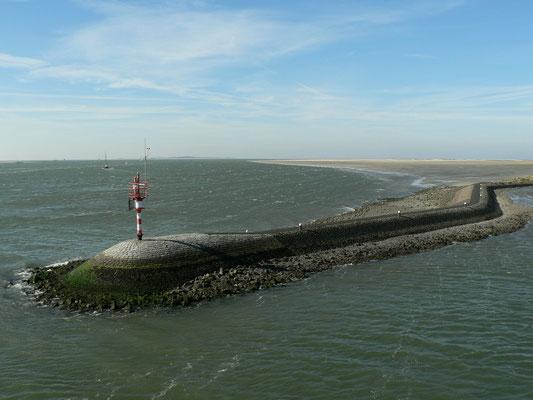 Terschelling, Hafeneinfahrt