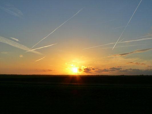 Sonnenuntergang an der Eem
