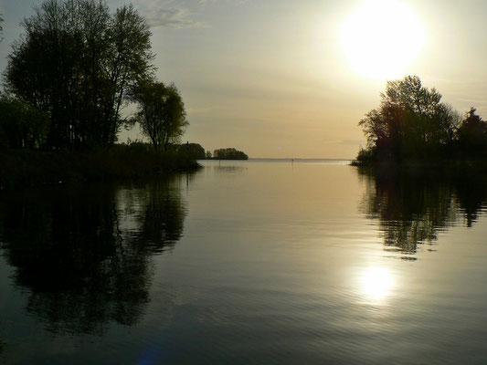 Sonnenaufgang über dem Gooimeer