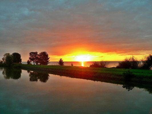 Sonnenaufgang über dem Markermeer