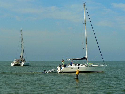 Hafenausfahrt Stavoren