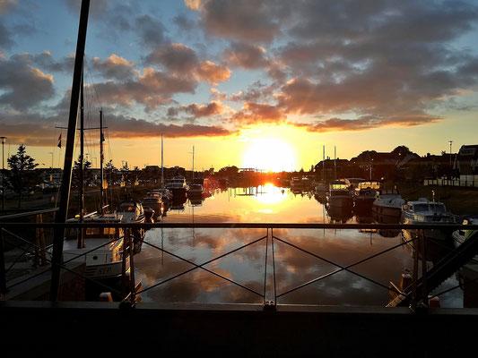 Sonnenaufgang in Harderwijk