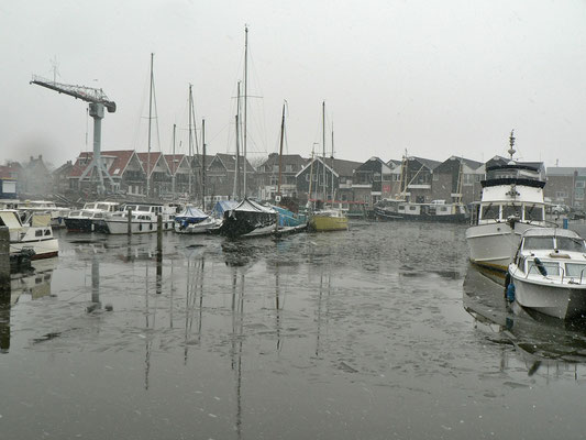 Eiszeit in Urk