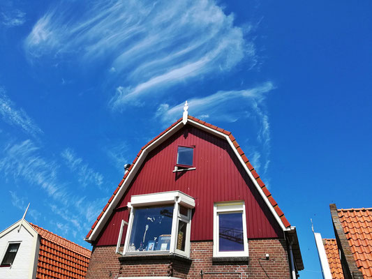 Urk, Interessante Wolkenbildung