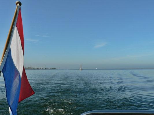 Schönes Wetter auf dem Ijsselmeer