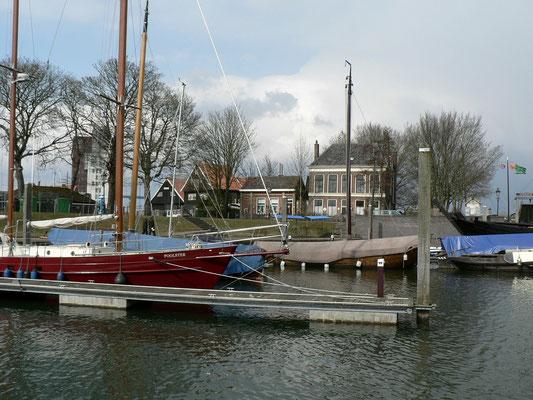 Im Passantenhaven von Kampen