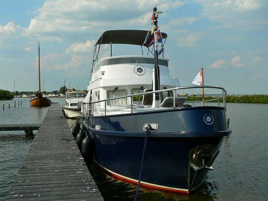 Unser Liegeplatz beim Sneekermeer