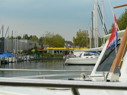 Im Jachthafen ZV Aeolus