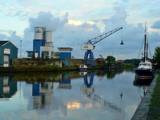 Industriehafen von Schagen