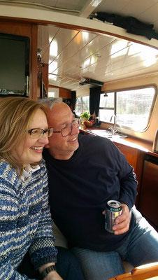 Bei Eva & Udo an Bord der Lancelot