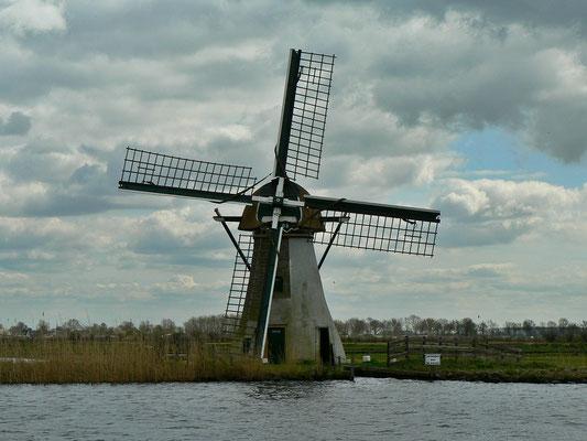 An jeder Ecke steht eine Mühle