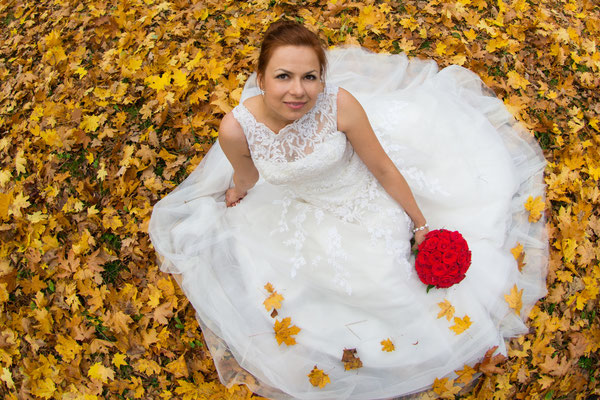 Autumn wedding shoot in Poland
