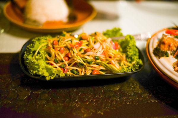 Yamamuang - mango spicy salad