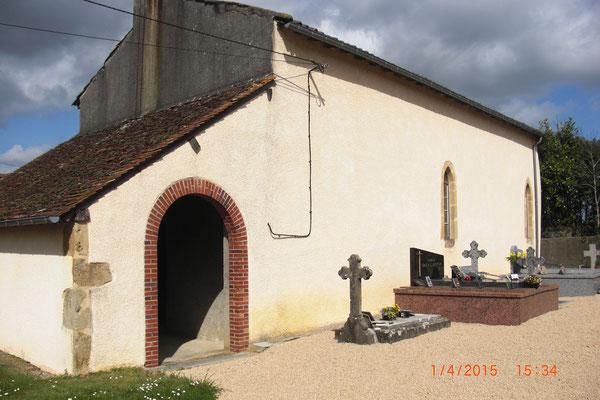 Eglise St André de Mondebat