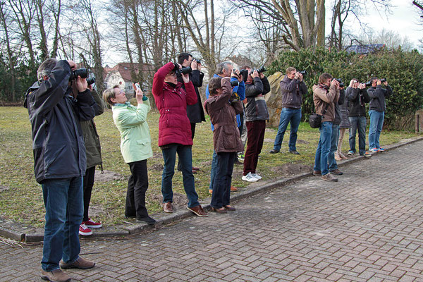 Die Teilnehmer beim Fotokurs im März 2015