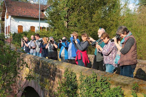Die Teilnehmer beim Fotokurs im April 2017 - Der nächste Kurs findet im Oktober 2019 statt - Anmeldungen sind über die Kontaktseite möglich.