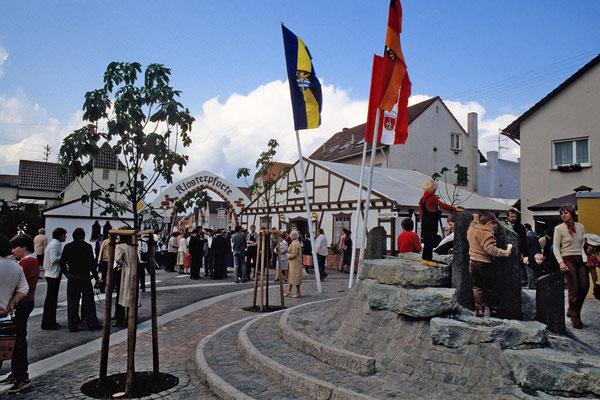 Klosterpforte bei der 1200Jahrfeier 1980