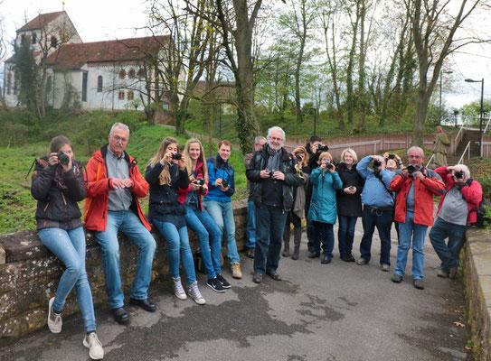 Die Teilnehmer beim Fotokurs im April 2016 - Der nächste Kurs findet im Oktober 2019 statt - Anmeldungen sind über die Kontaktseite möglich.