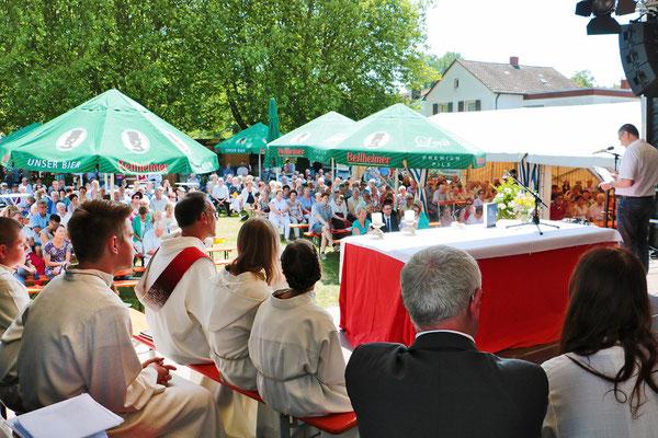 Offizielle Eröffnung des Klosterfestes
