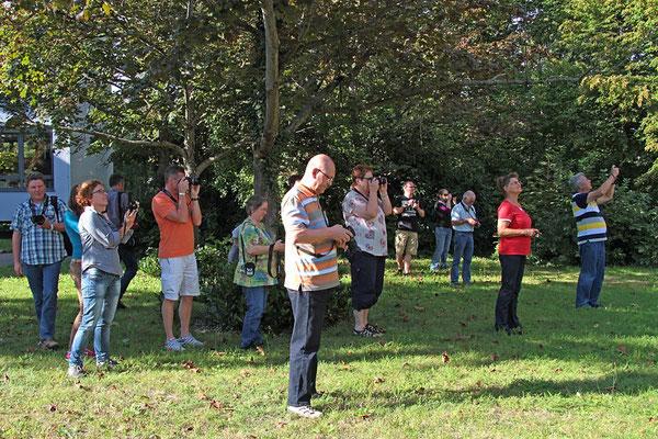 Die Teilnehmer beim Fotokurs im September 2014