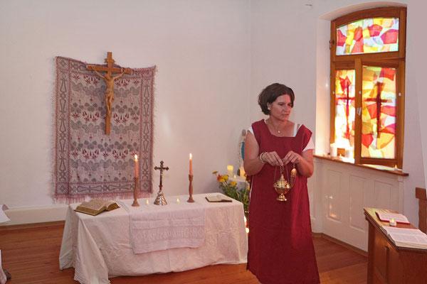 Programm der Kita im alten Forsthaus - Klosterkapelle