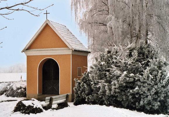 Die Kapelle am südlichen Ortseingang.