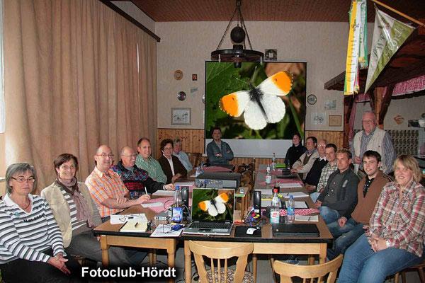 Auch beim Fotokurs im April 2009 waren die Teilnehmer mit Eifer bei der Sache.