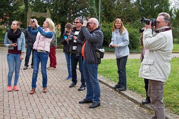 Die Teilnehmer des Fotokurses im März 2014 bei der Foto-Exkursion. - Der nächste Kurs findet im Oktober 2019 statt - Anmeldungen sind über die Kontaktseite möglich.