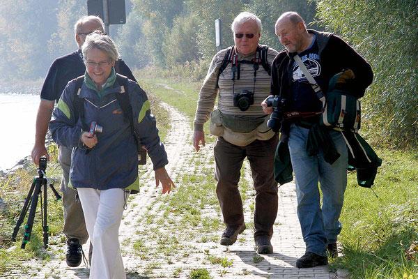 Fotowanderung in der Hördter Rheinaue