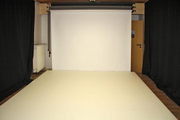 Das neue Studio ist fertig und kann sich sehen lassen.
