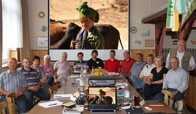 Die Teilnehmer beim Fotokurs im September 2011 - Der nächste Kurs findet im Oktober 2019 statt - Anmeldungen sind über die Kontaktseite möglich.