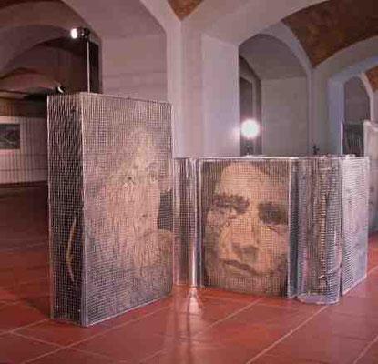 Lo sguardo di Artaud, installazione, ISA, Roma, 2006