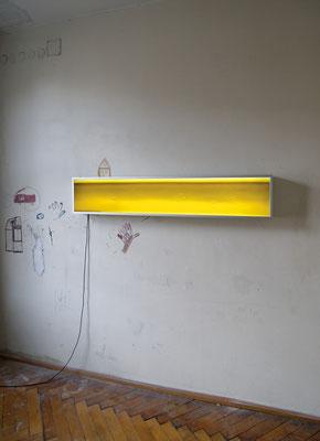 """""""Fluss"""" 2007, Installation Ortung V"""