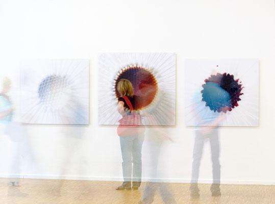 """""""Kommen und Gehen"""" 2007, Kunsthaus Nürnberg"""