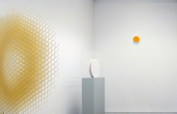 """Duo"" 2001, ""Babydream 2001"", ""Kleines Orange"" 2001, Palais Stutterheim, Erlangen"