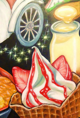 ソフトクリーム&プリン