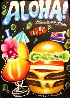 カクテル&ハンバーガー