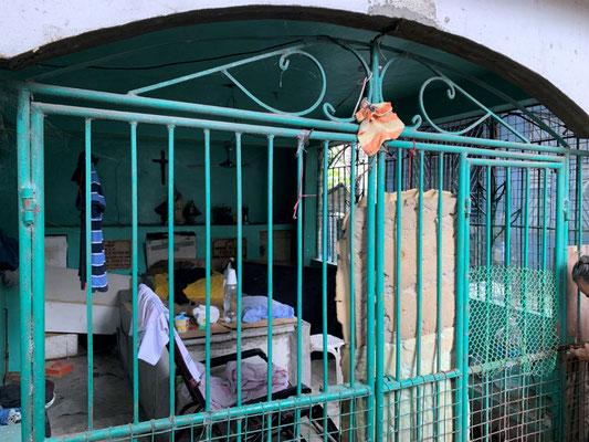 Wohnen in einem Mausoleum Friedhof Cebu