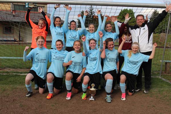 B-Juniorinnen 2016/2017 Sieger des Regionenpokals Kleinfeld - Finale in Münster