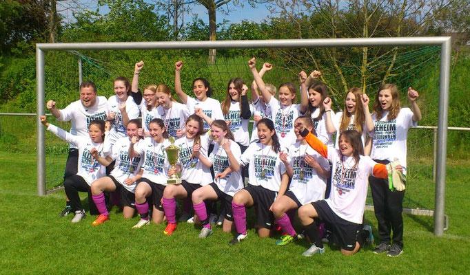 C-Juniorinnen 2015/2016  Sieger des Regionenpokals Kleinfeld - Finale in Wattenheim