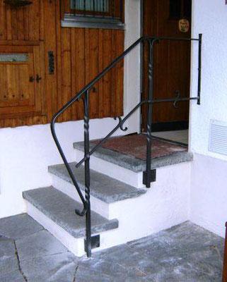 Treppengeländer geschmiedet