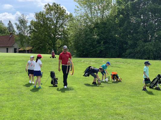 Golf Club Coburg Jugendtraining Golfjugend Sport